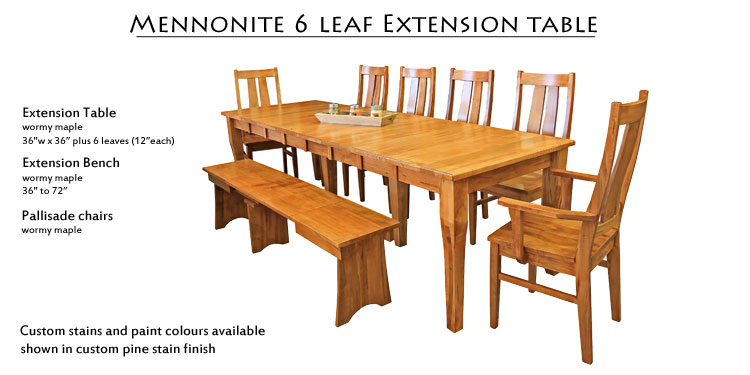 Extension Table 2399 Pallisade Chair 439 Now 349 Arm 499 399 Bench 959